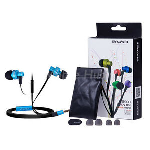 Genuine-Awei-ES900i-3-5mm-Stereo-In-Ear-Earphone-with-Mic-for-iPhone