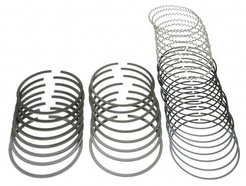 SPEED PRO Chevy 400 Hypereutectic Dish Top Piston+MOLY Ring Kit use 5.7 rods 30