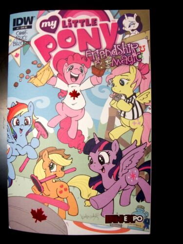 My Little Pony #1 Katie Cook Varient FAN EXPO Exclusive comic Canada Friendship