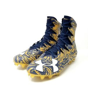 best authentic 10f56 e4f95 Image is loading Under-Armour-Highlight-LUX-MC-Football-Cleats-Notre-