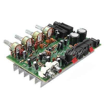 Kit 60W Hi-Fi Stereo Audio 12V Power Amplificateur Volume Contrôle Preamp Board