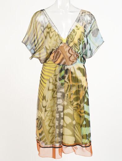 Neu Alberta Ferretti 2 Teile Kleid Größe 42