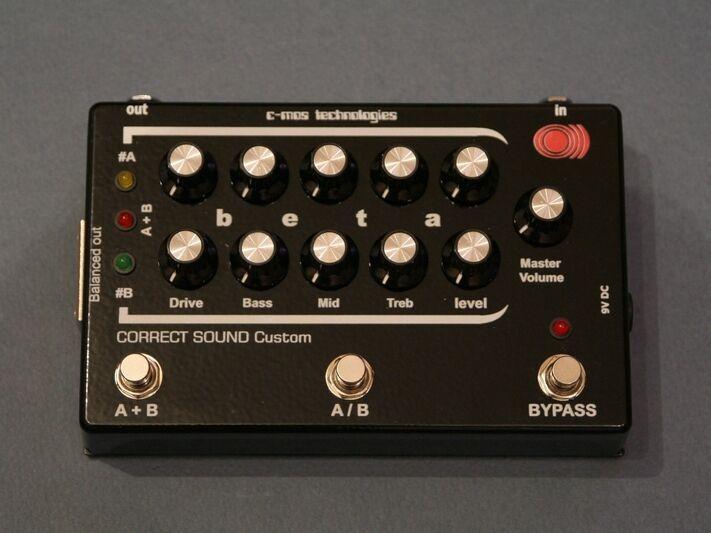 BETA bass preamp (based on preamplifier SUNN Beta Bass)