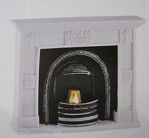 kahlert 49660 antiker kamin mit beleuchtung 3 5v 1 12 f r puppenhaus neu ebay. Black Bedroom Furniture Sets. Home Design Ideas