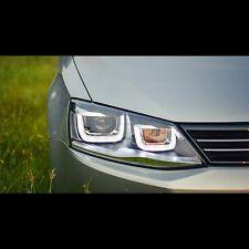 LED UU Style DRL Xenon HID Headlights For Volkswagen Jetta MK6 2012~2015