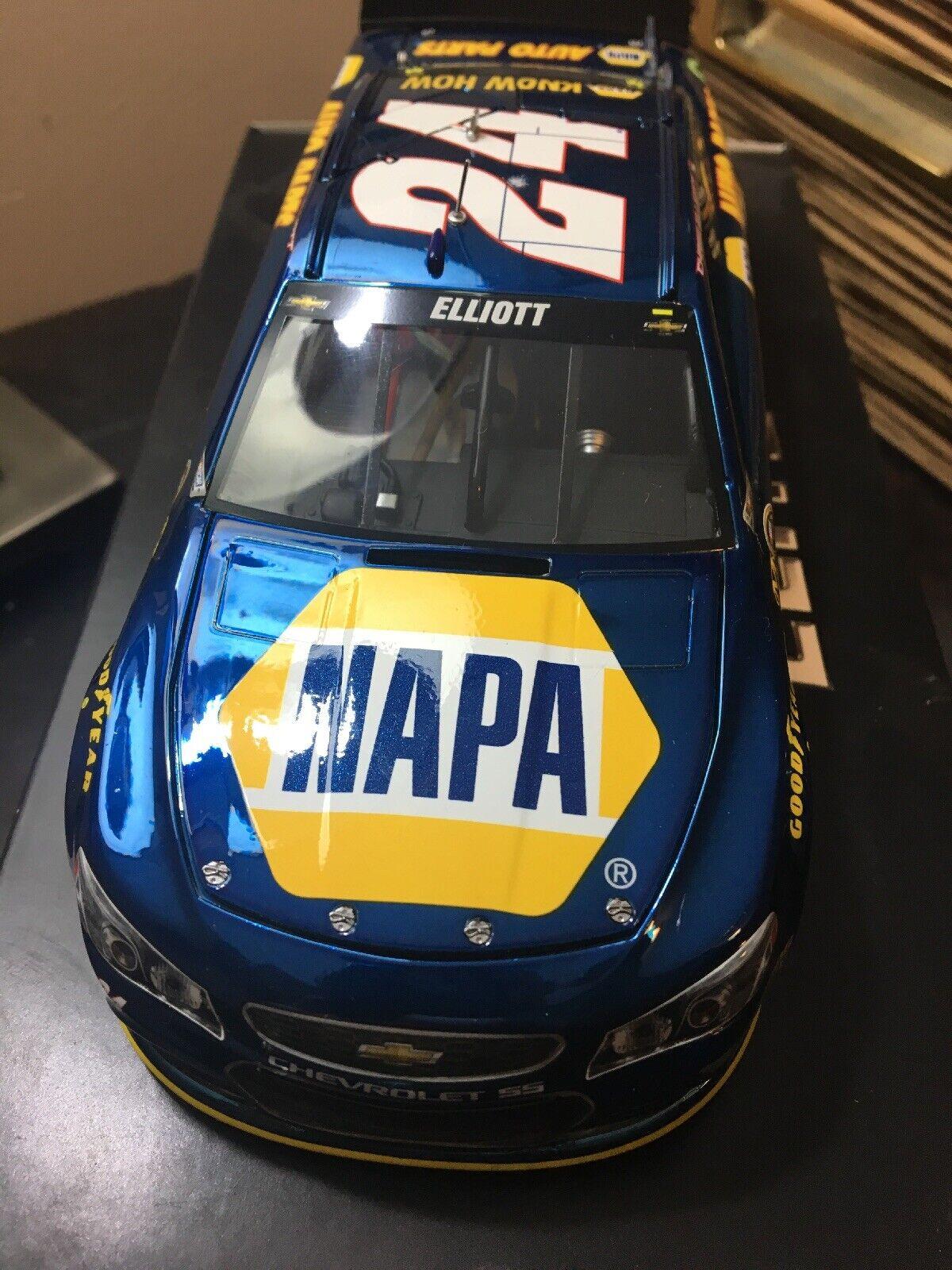 2016 Chase Elliott   24 NAPA Couleur Chrome 1 24 Daytona 500 Pole 1 58 Rookie  assurance qualité