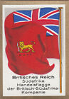 DRAPEAU British Empire britannique South Africa Trade Commerce FLAG CARD 30s