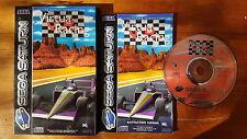 Virtua Racing - Sega Saturn - Boxed & Complete!