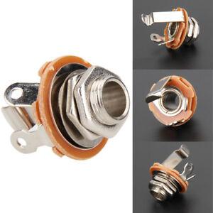 1-4-6-35mm-Jack-2-Conductor-Panel-Phone-Guitar-Output-Input-Jack-Part-Tool
