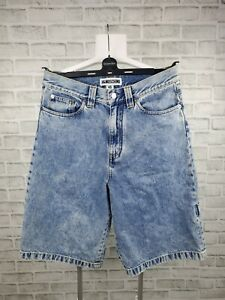 Men's H&M x Moschino Denim Shorts Jean Carpenter Breeches Size 46/32