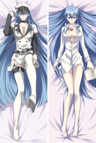 Akame ga Kill Esdeath Anime Dakimakura Hugging Body Pillowcase Pillow Case Cover