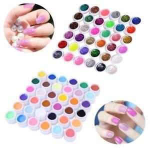 profi 72 mix farbige uv gel nagel set deko tipps farbgel. Black Bedroom Furniture Sets. Home Design Ideas