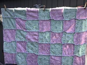 Details about Handmade Rag Quilt