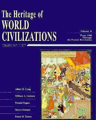 Heritage of World Civilizations, Combined Paperback Albert M. Craig