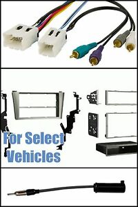 s l300 car stereo radio install dash kit bose wire antenna adapter for GM Radio Wiring Harness Diagram at bakdesigns.co