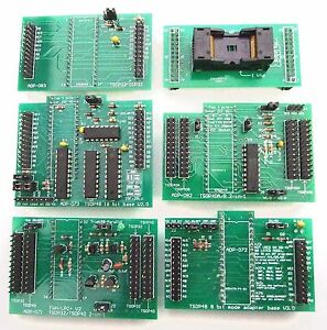 Details about ADP-033A Newest TSOP 20mm Adapter Complete Set for GQ-4X  GQ-3X programmer