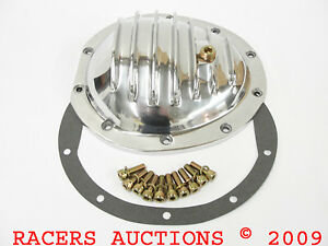 10Bolt-Aluminum-Differential-Cover-Kit-Chevy-Front-Axle-77-90-Pickup-Truck-Burb
