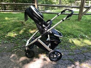Details About Uppababy Vista Stroller 2010 Stroller Seat Bassinet Boogie Board And More