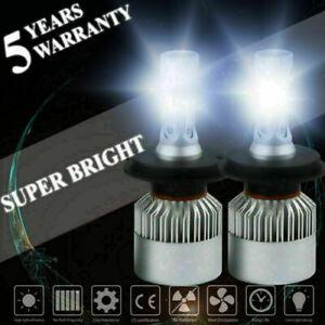 Pair-H4-9003-1400W-210000LM-LED-Conversion-Headlight-KIT-Hi-Lo-Beam-6000K-White