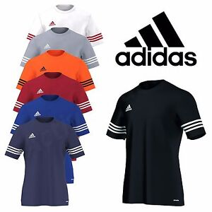cheaper a4374 f73ed ... Adidas-Homme-T-Shirt-Football-Haut-d-039-