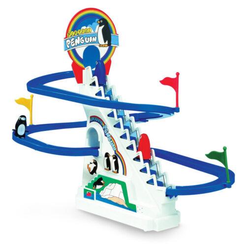 Penguin Race Glisser /& coulissant ski lift enroulement pente Jeu Jouet Cadeau Enfant