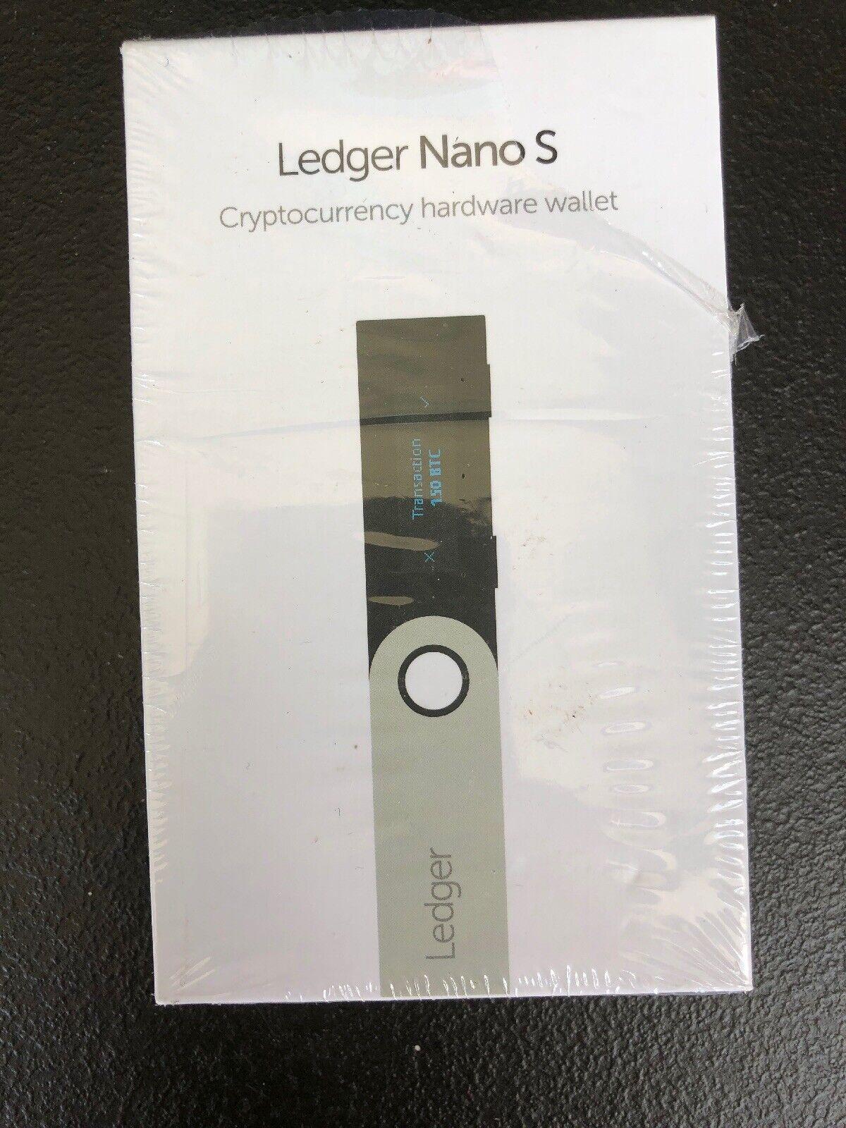 Ledger Nano S Cryptocurrency Encryption Bitcoin Ethereum Hardware Wallet 1