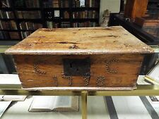 Rare 1738 Oak/Elm Bible Box