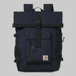 Carhartt-Philis-Backpack-21-5L-Dark-Navy-Blau-Laptopfach-I026177-Neu