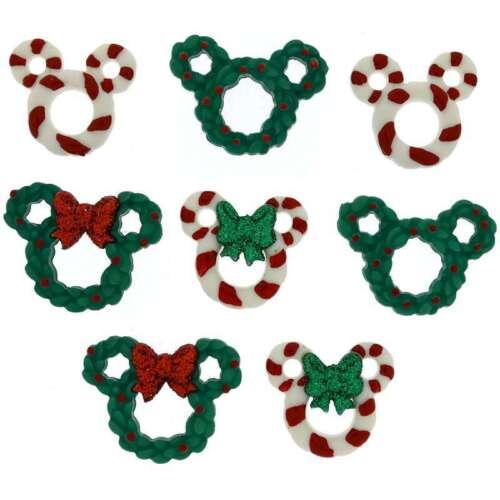 Dress It Up Licensed Embellishments Disney Wreath /& Canes 787117565379
