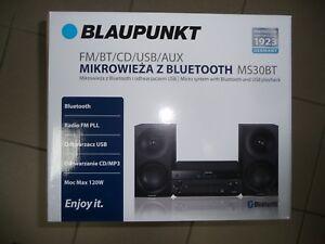 BLAUPUNKT-MS30BT-Radio-CD-USB-MP3-mit-Bluetooth-Micro-Kompakt-Stereo-Anlage