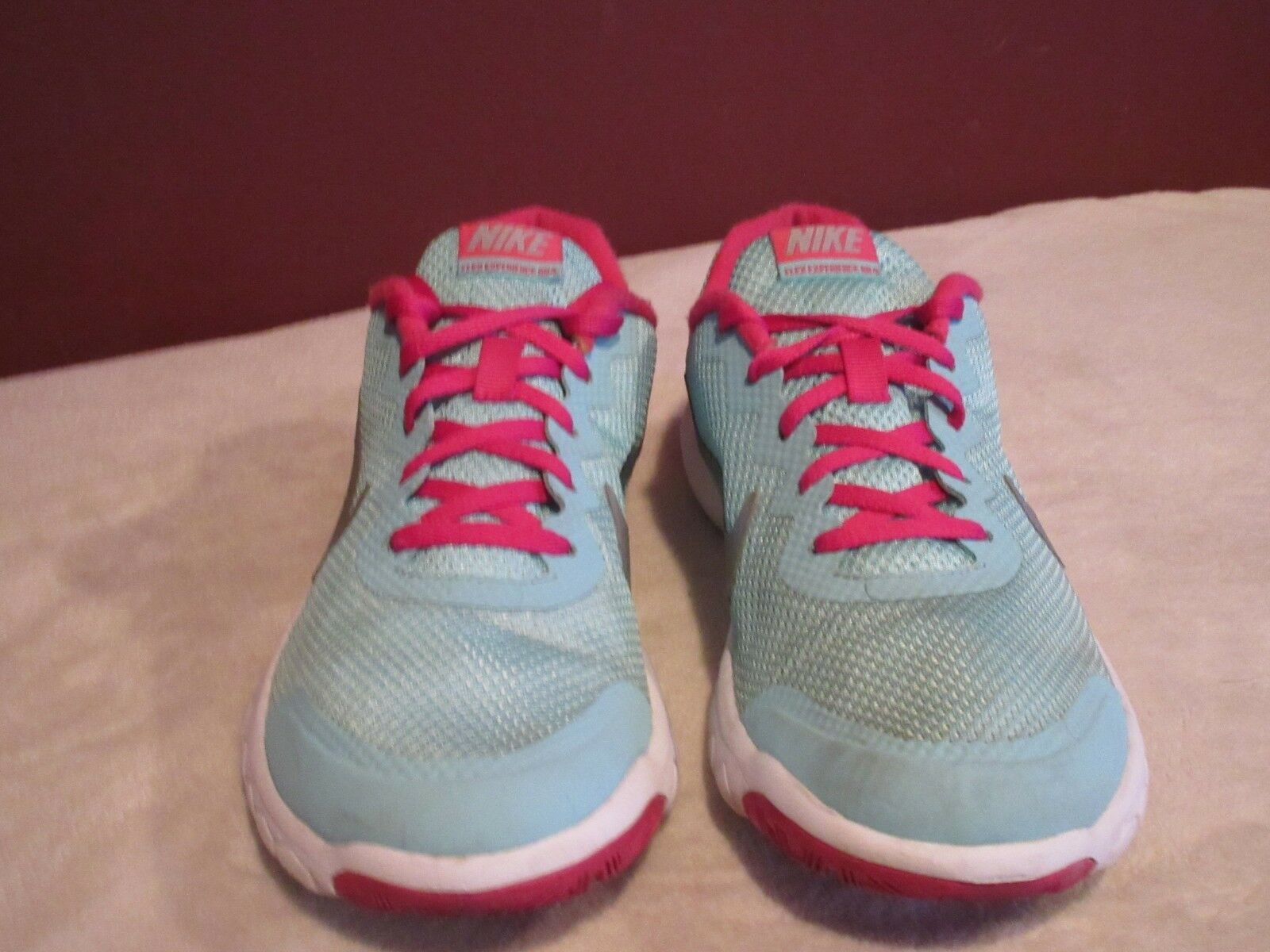 NIKE FLEX EXPERIENCE RN 4 RUNNING SNEAKERS (749818 400) SIZE 7Y