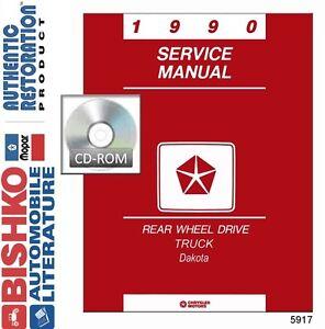 image is loading 1990-dodge-dakota-truck-shop-service-repair-manual-