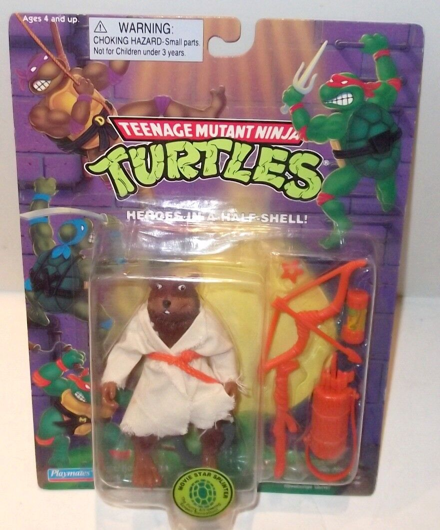 TMNT Movie Estrella ✰ Splinter ✰✰ RARE WITH TOOTH ✰ ✰ ✰ Ninja Turtle cifra vintage 1994 5fce07