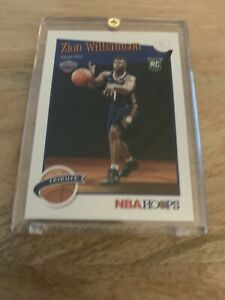2019-20-Panini-NBA-Hoops-Tribute-Zion-Williamson-Rookie-Card-296