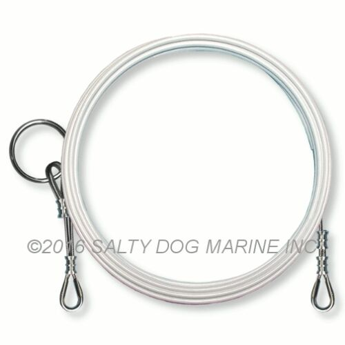 NEW #196791 AMF TRAC 16 FORESTAY WIRE WHITE