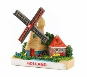 Windmuehle-Holland-Poly-Magnet-Niederlande-Poldermolen-Souvenir
