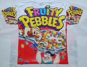 c644928b1c4 Image is loading Custom-Fruity-Pebbles-Red-Sublimated-Shirt-galaxy-legend-
