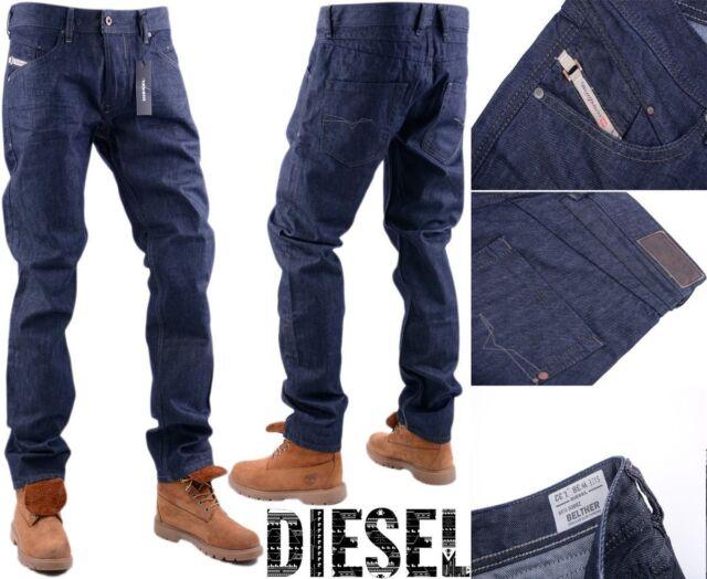 a04411dc Diesel BELTHER 0088z W38 L32 Mens Denim Jeans Regular Slim Tapered Fit for sale  online   eBay