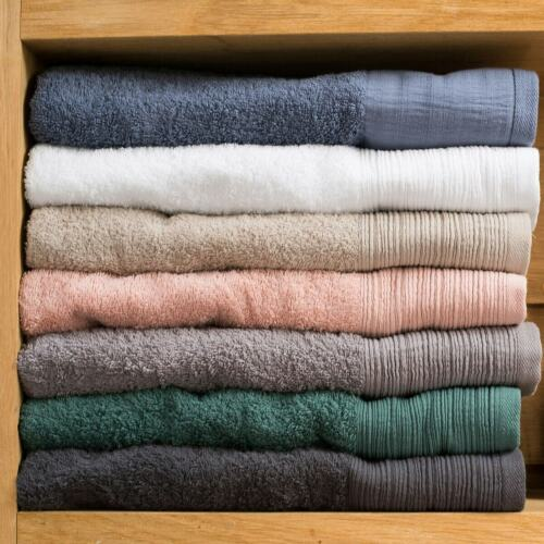 La Redoute Interieurs  Organic Terry Cotton Bath Towel 350034256