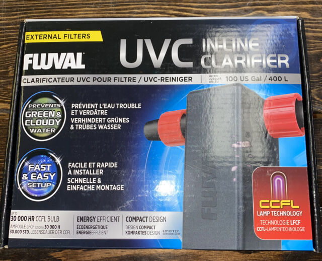 FLUVAL UVC In-Line Clarifier (up to 100 Gallon)  A-203