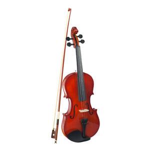 1-4-Geige-Violine-mit-Geigenkoffer-Bow-Geschenk-fuer-Studenten-oder-Kinder