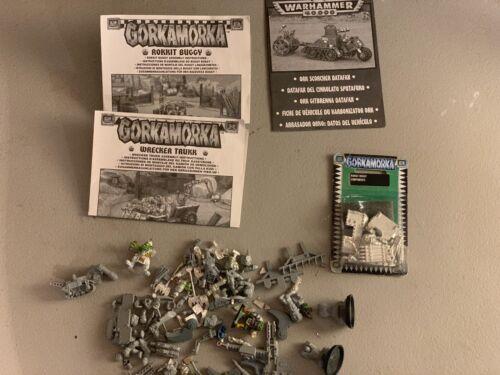 WARHAMMER 40K BANEBLADE XV107 RVARNA TAU ORK GORKAMORKA ROKKIT OOP RARE LOT