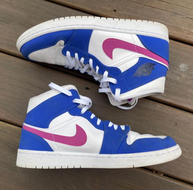 Size 10.5 - Jordan 1 Mid Royal Violet for sale online | eBay