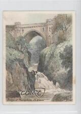 1929 Player's Picturesque Bridges #18 Bridge at Poulaphuca Co Kildare Card 1s8