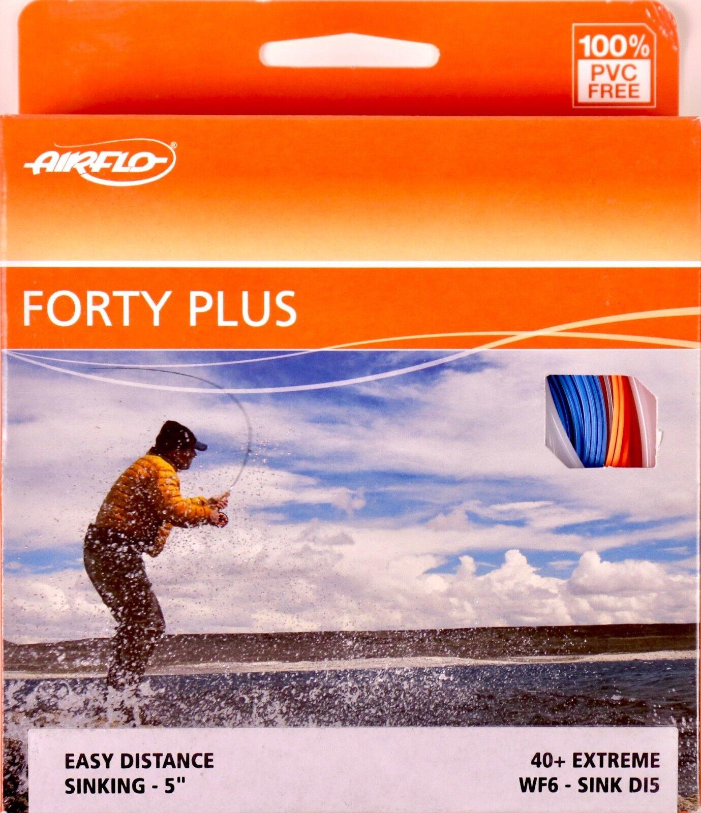 Fliegenschnur Distance Fly Line WF6 I AIRFLO FortyPlus 40 Sink 5