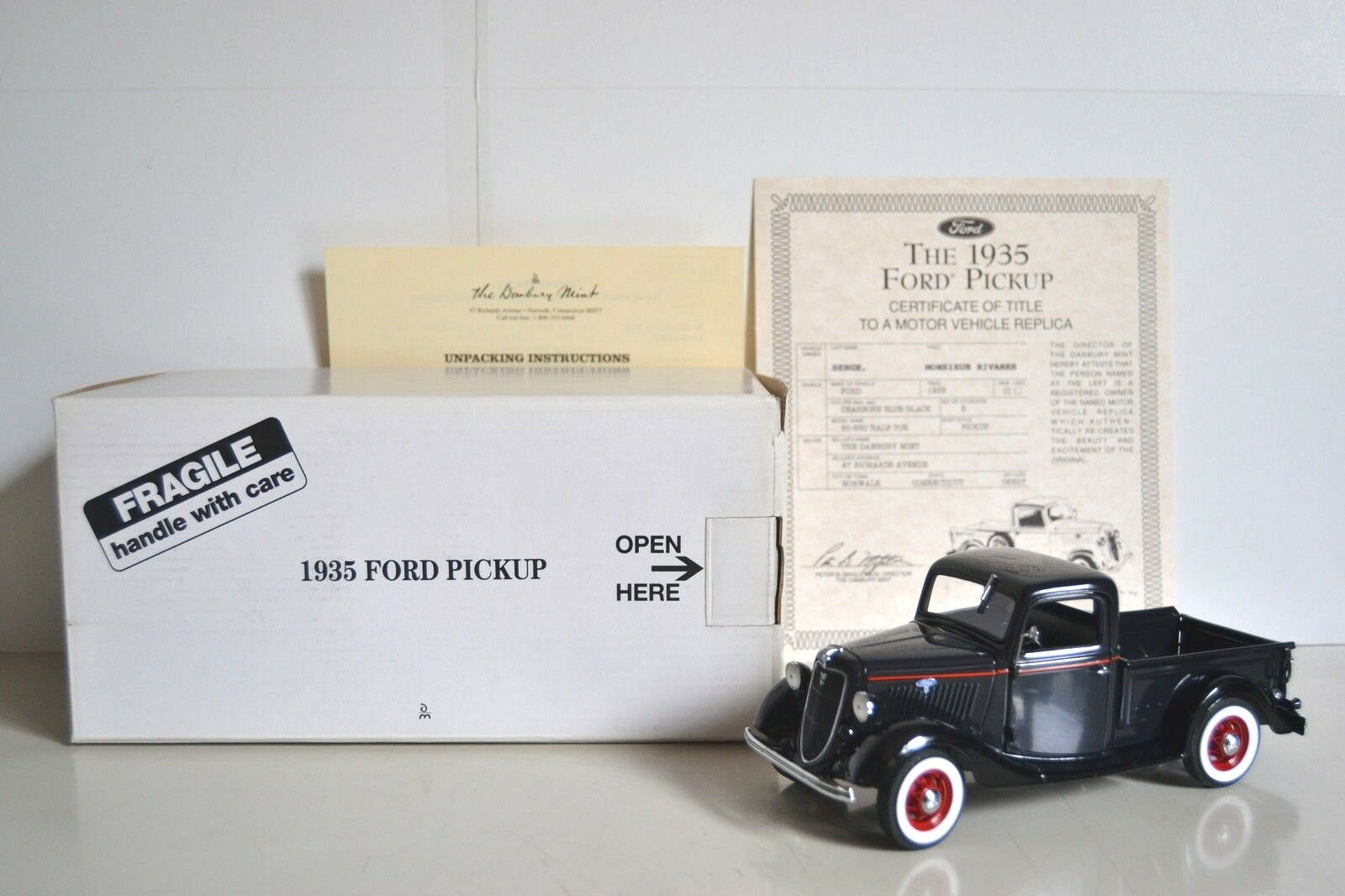 preferente Danbury Mint 1 24 Ford 50-830 1940 Pickup Pickup Pickup  Half-Ton . Réf. DM026.  Tu satisfacción es nuestro objetivo