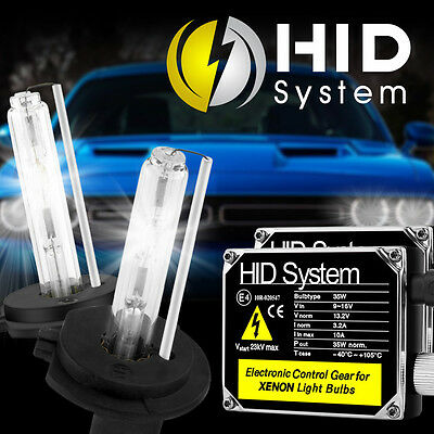 10000K HID XENON H7 LOW BEAM HEAD LIGHTS BULBS L+R CONVERSION KIT W//BALLAST C3