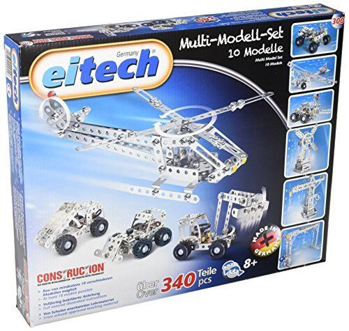 New Classic Toys Eitech Construction - C300 - Multi Model Set