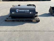 Sweepster Skid Steer Hopper Broom Pick Up Sweeper 5