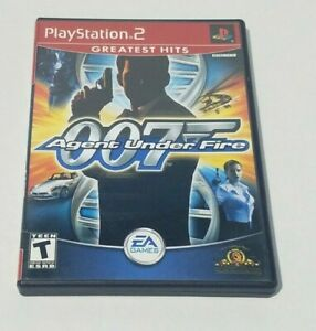 James Bond 007 in Agent Under Fire (Sony PlayStation 2) Complete, Free Shipping